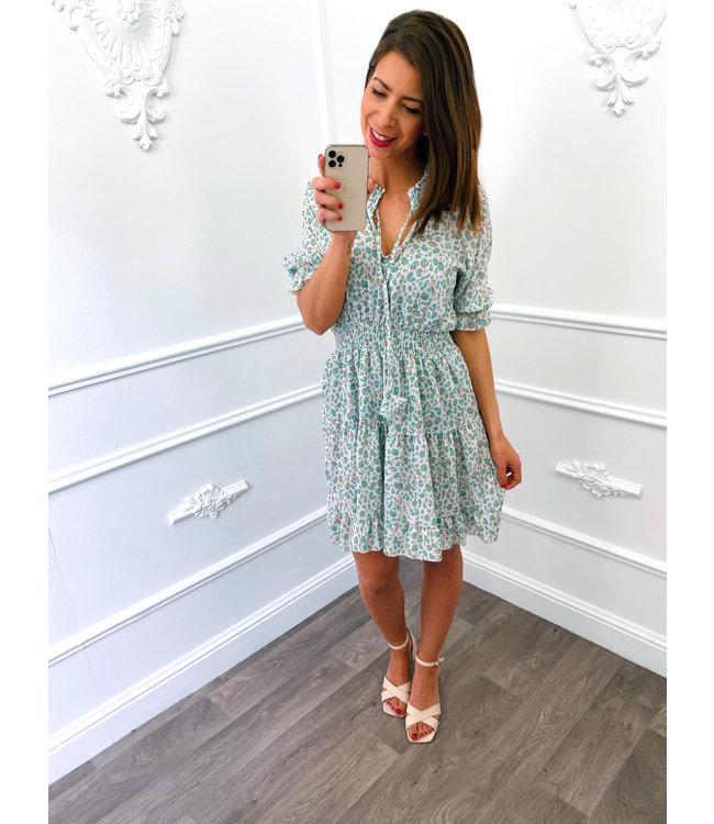 Non La Dress Mint Groen