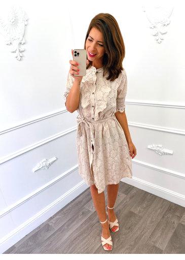 Switch Dress Creme