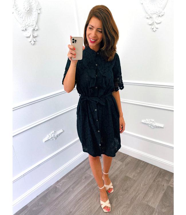 Switch Dress Zwart