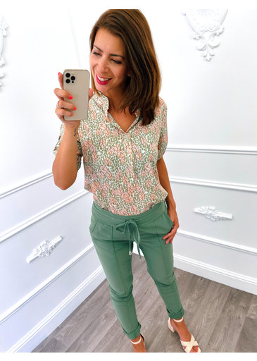 Top Feuilles Dots Army