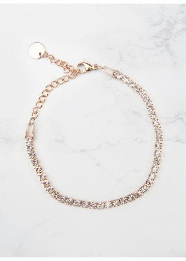 Crystal Bracelet Rose