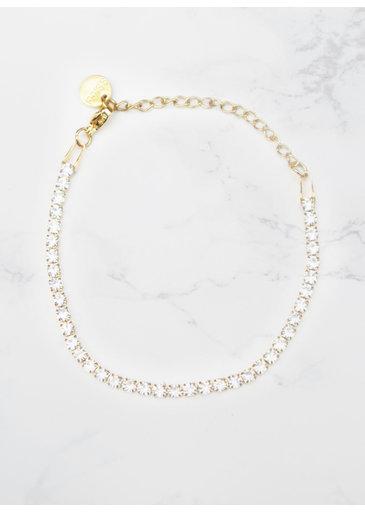 Bracelet en cristal or
