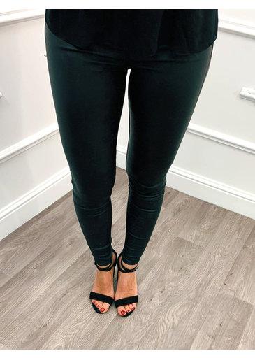 Jeans à Revêtement Parfait Noir