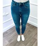 Jeans en Denim Bleu