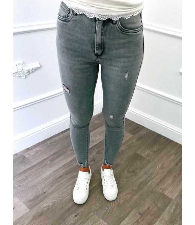 Denim Jeans Grey