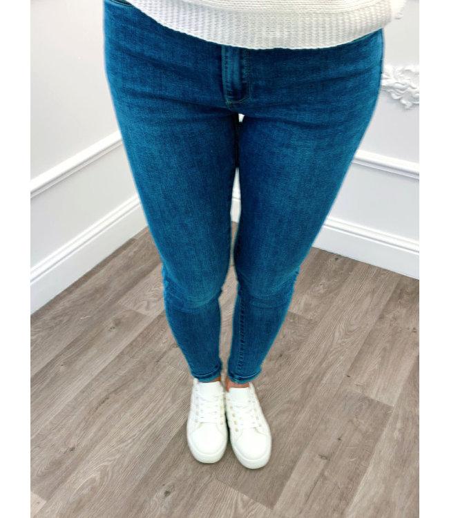 Jeans Skinny bleu