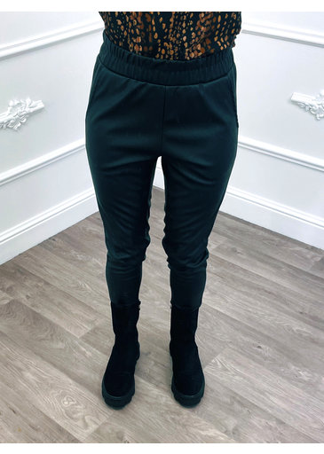Pantalon Végétalien Noir