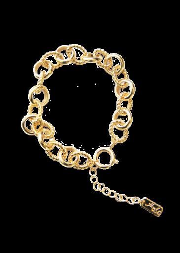 Bracelet Anneau Ouvert Or