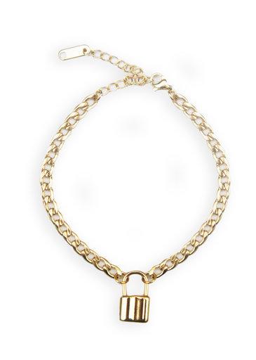 Bracelet à Cadenas en Or