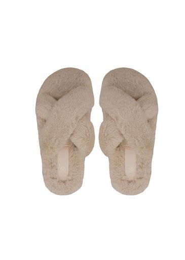 Chaussons en Peluche Camel