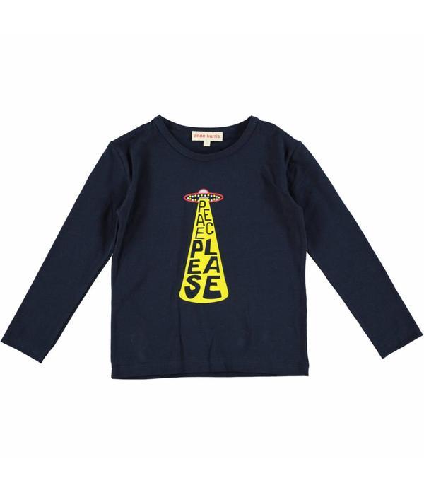 Anne Kurris Anne Kurris 81H T-shirt donker blauw