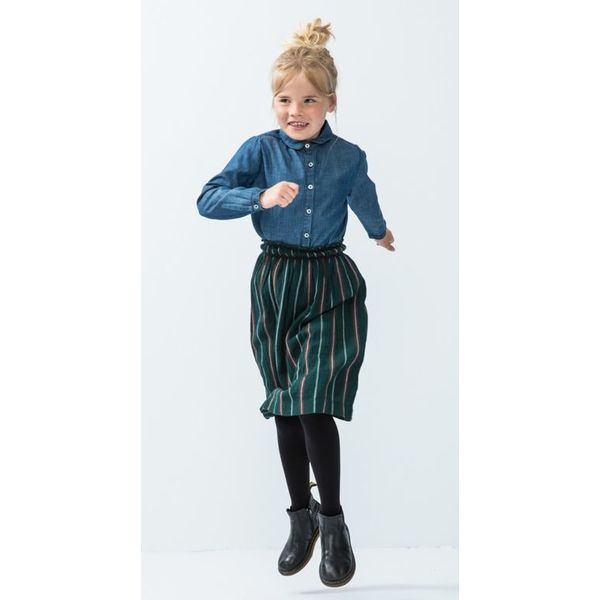 By-Bar 81H Girls angel stripe skirt-465
