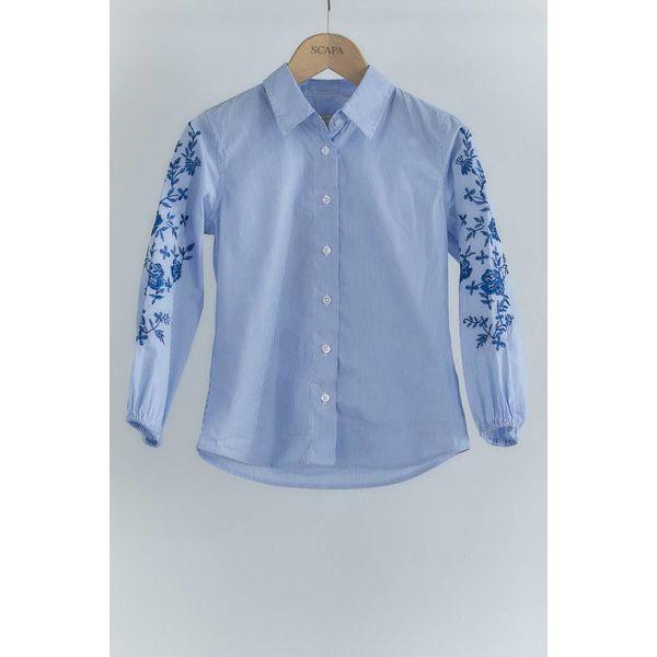Scapa 81H Finn embroidery-lt blue