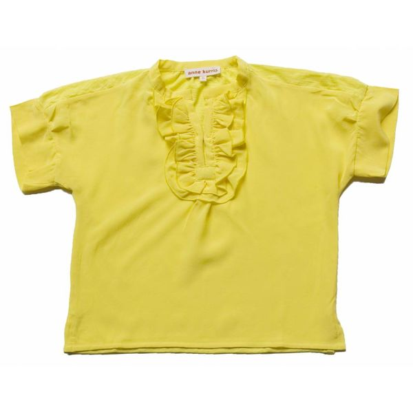 Anne Kurris 91E Hope  crepe yellow