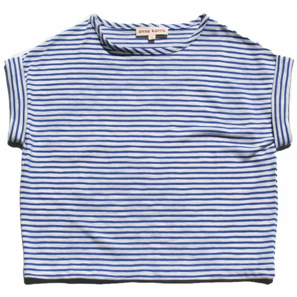 Anne Kurris 91E Fave stripe blue