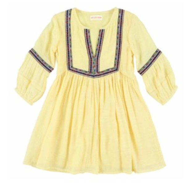 Simple Kids 91E Puma-crepe yellow