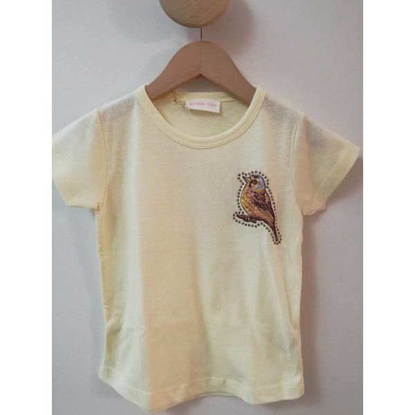 Simple Kids 91E Vogel-jersey lemon