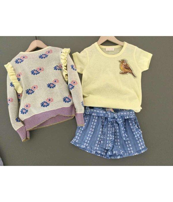 Simple Kids Simple Kids 91E Vogel-jersey lemon