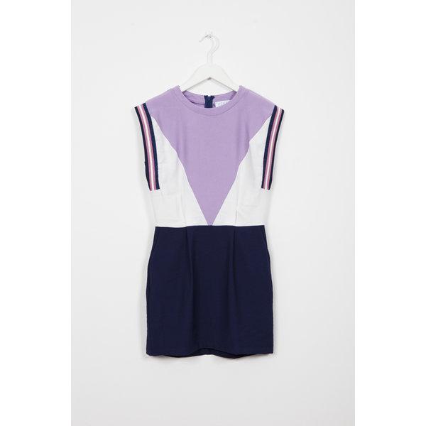 Indee 02E Guanaco dress blush