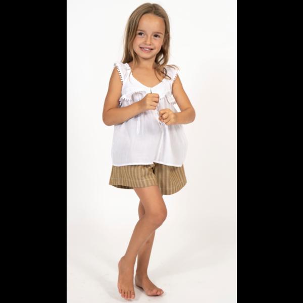 Simple Kids 02E Delft Cotvoile White