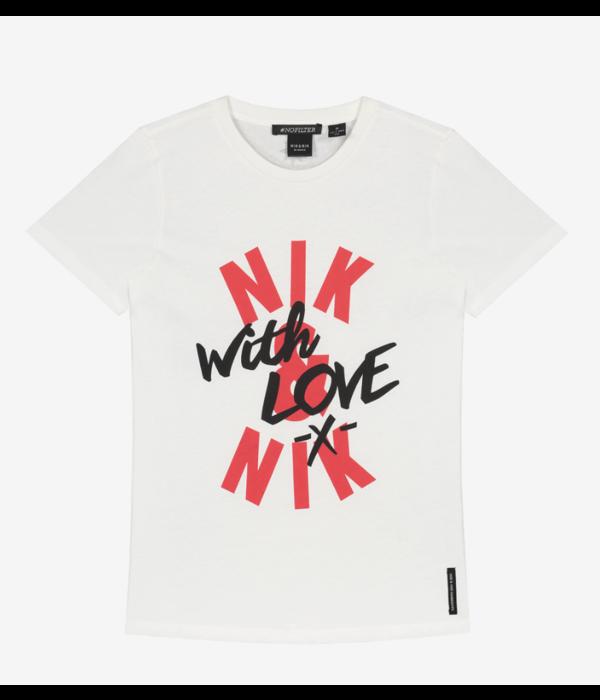 Nik & Nik Nik&Nik 02E With Love off white