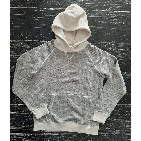 Hartford 02E Hoody heather grey en chalk 01