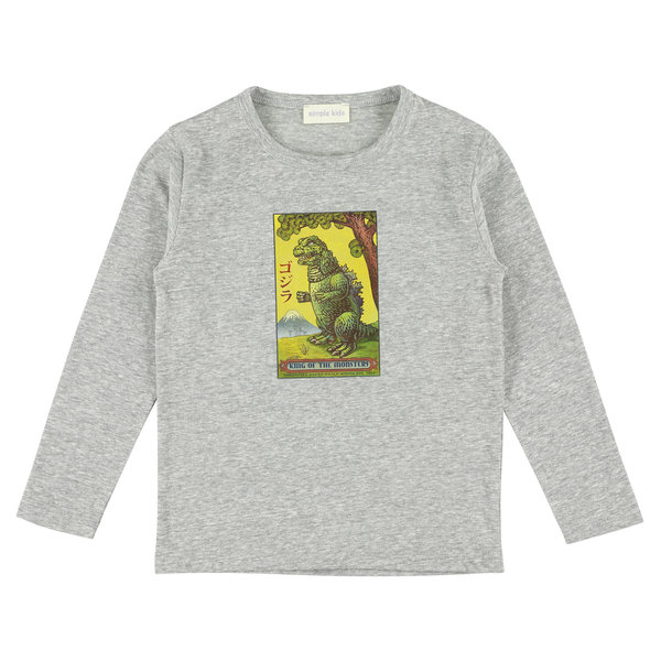 Simple Kids 02H Monster jersey flanelle