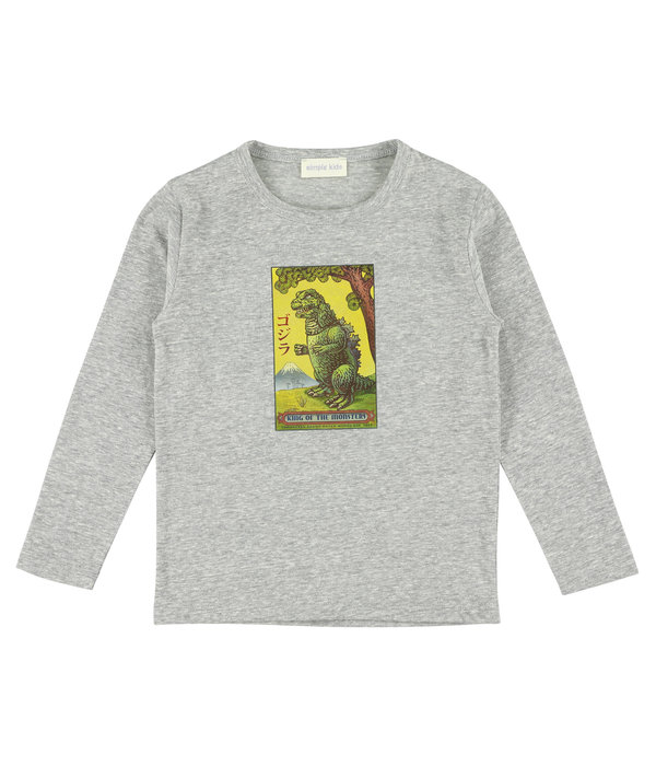 Simple Kids Simple Kids 02H Monster jersey flanelle
