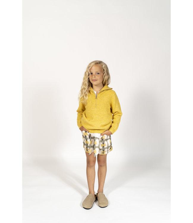 Simple Kids 12E HAMSTER BRUSH YELLOW