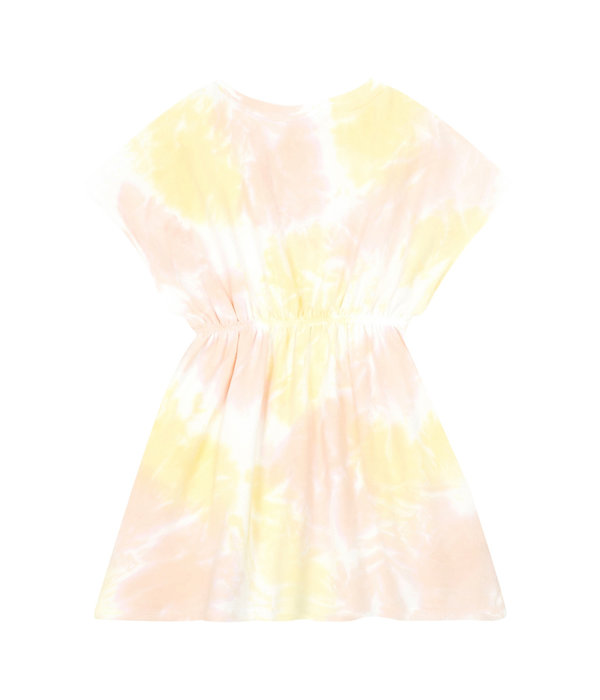Hundred Pieces 100 Pieces 12E F40120-AA TIE-DYE DRESS PINK