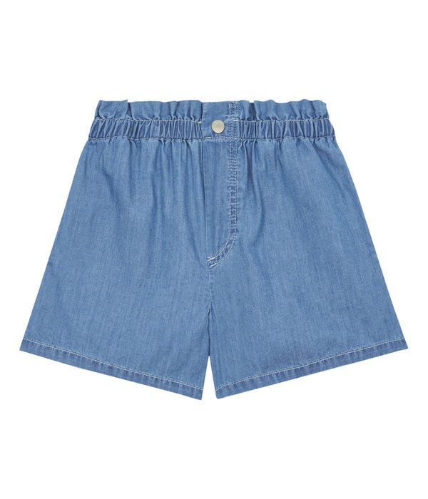Hundred Pieces 100 Pieces 12E F40141-AA CHAMBRAY SHORTS DENIM