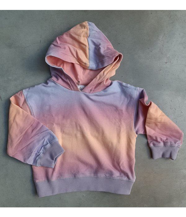 Hundred Pieces 100 Pieces 12E F40177-AA GRADIENT HOODIE PINK