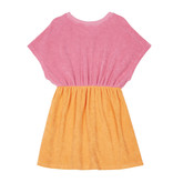 Hundred Pieces 100 Pieces 12E F40118-AA TWO-TONE TERRY CANDY PINK