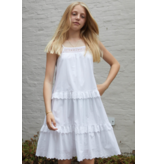 Little Remix Little Remix 12E 16767 SANDRA strap dress cream