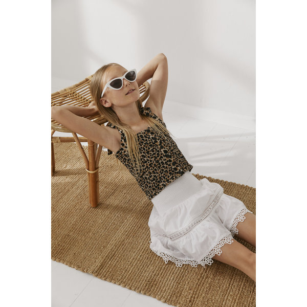 Little Remix 12E 16842 SANDRA skirt cream