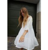 Little Remix Little Remix 12E 16729 MOLISE ruffle dress cream