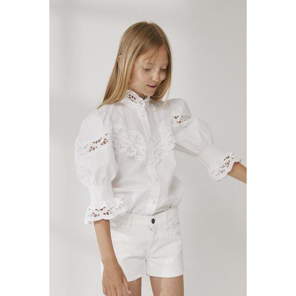 Little Remix 12E 17046 BELLIS shorts cream