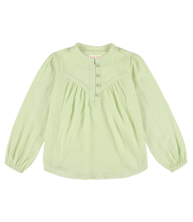 Simple Kids  mint groen bloesje