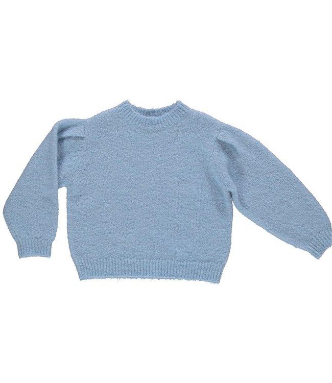 Maan blauwe trui