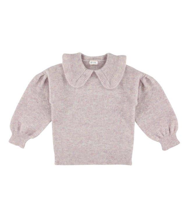 Morley lila trui met kraag