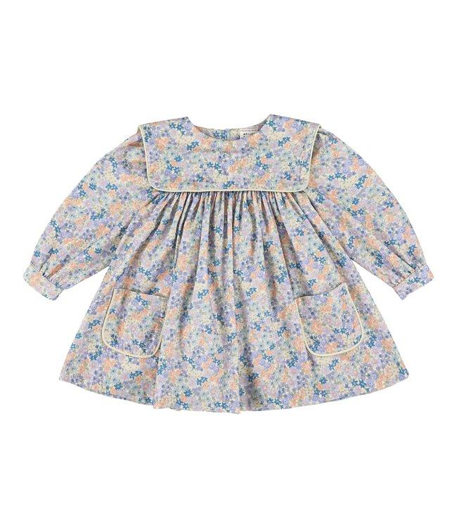 Morley kleedje in zachte bloemenprint