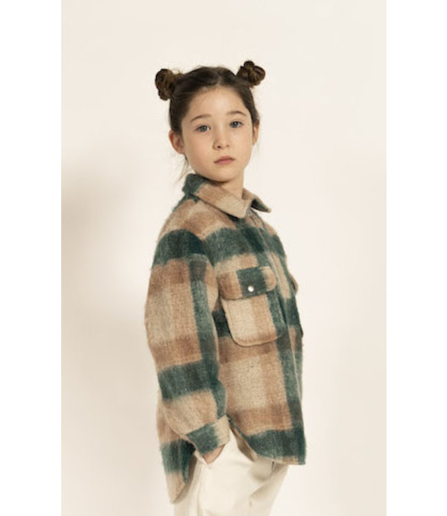 Simple Kids ruiten hemd/ trui