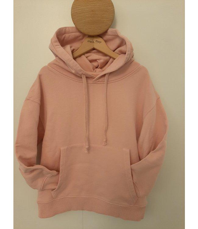 Maan roze hoodie
