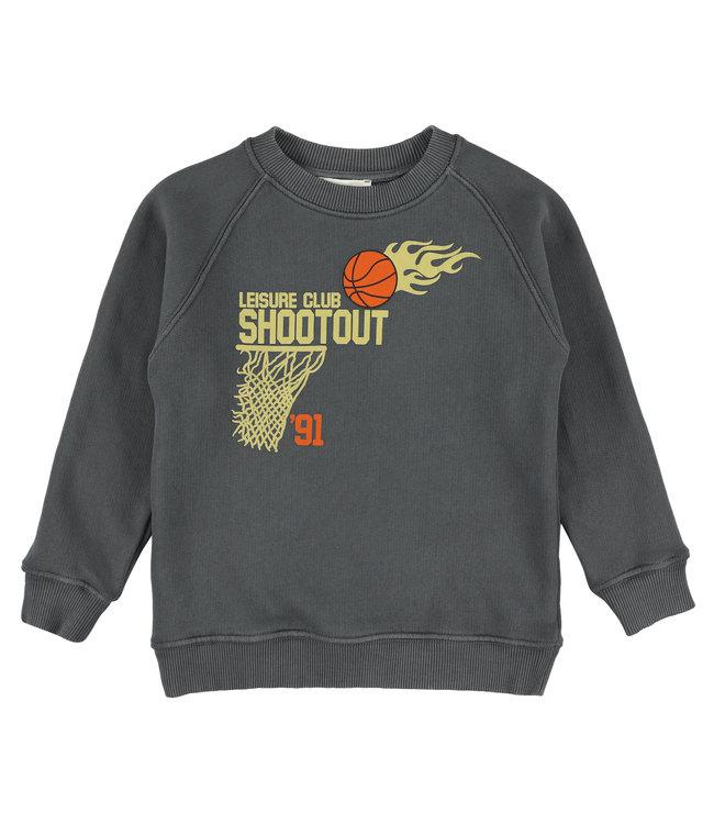 Simple Kids grijze sweater