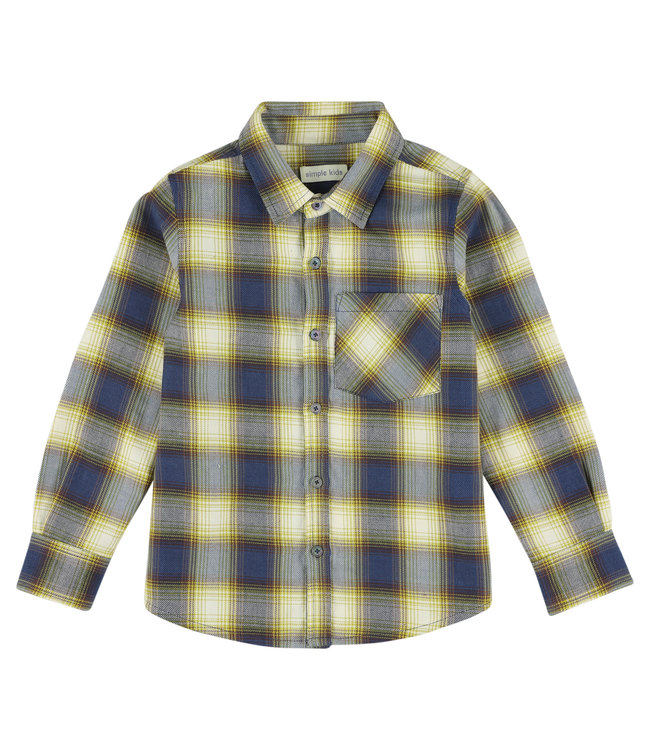 Simple Kids geruit hemd
