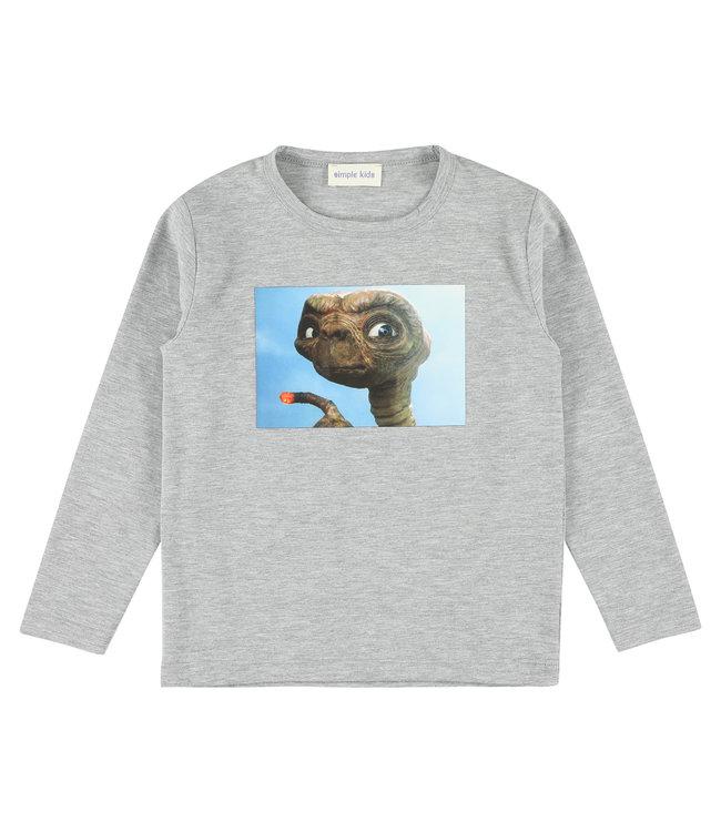 Simple Kids grijze t-shirt