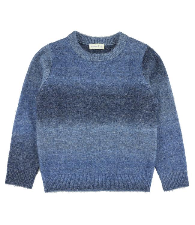 Simple Kids blauwe trui