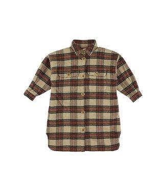Morley Morley ruiten hemdsjkleedje