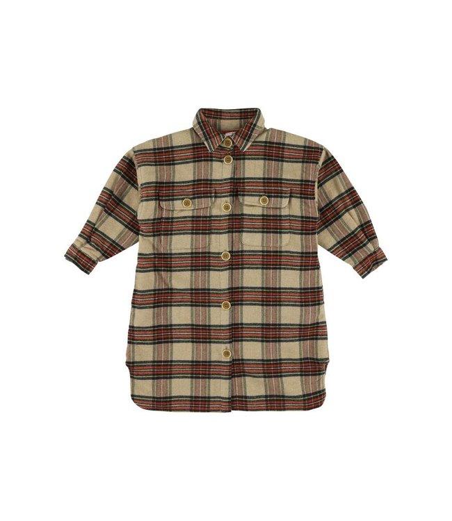 Morley ruiten hemdsjkleedje