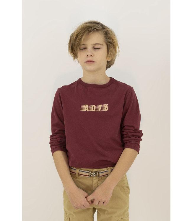 Ao76  bordeaux T-shirt